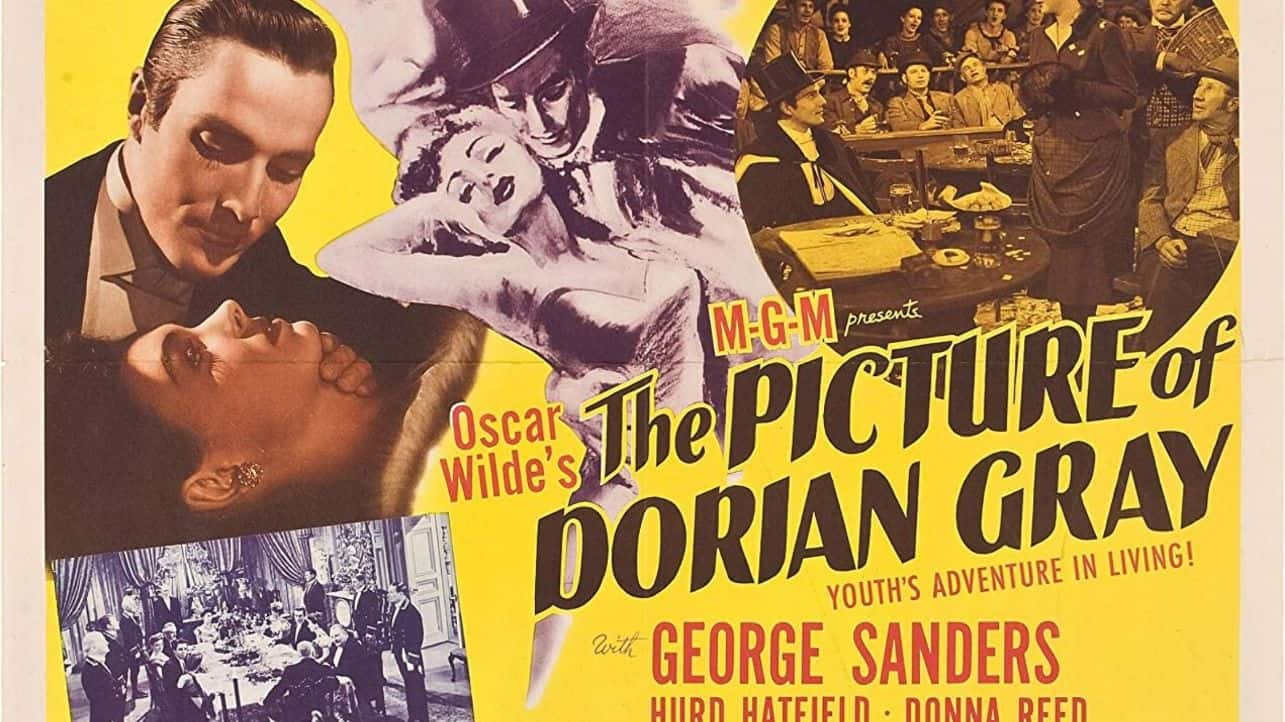 Movie poster for The Picture of Dorian Grey